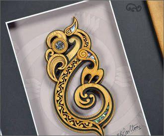 Contemporary Maori art. Te Manaia (guardian). I have one!