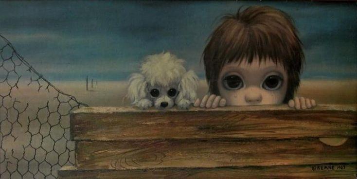 Маргарет Кин. Большие глаза - Ярмарка Мастеров - ручная работа, handmade