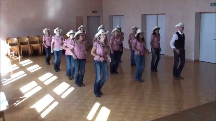 Learn how to line dance - The Tush Push line dance ...