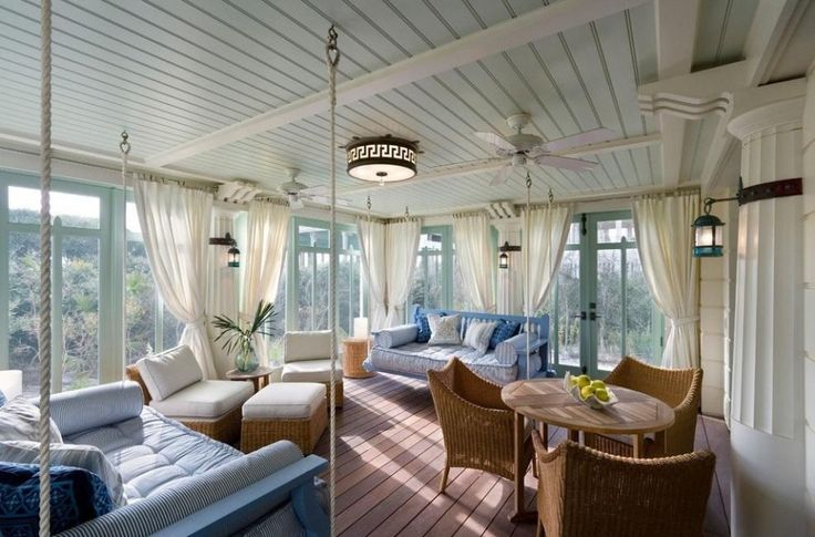 Decoration, Enclosed Sun Porch Decorating Ideas Modern Sun Porch Screened In Patio Screen Room Kits Outdoor Ideas Porches Decorating Three Season Rooms Sun Sunroom Plans Porch Enclosures How To Build Decor Desi: Create The Impression Of Sun Porch Designs Into Your Home Patio Space