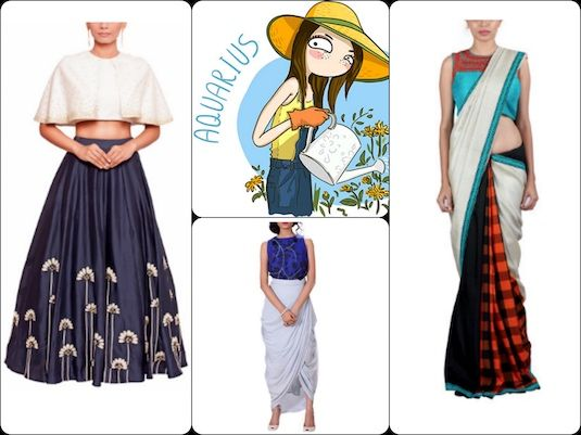 As an Aquarius woman, which  are the perfect ethnic looks you're likely to love? Check out our picks in our latest #blog post: https://strandofsilk.com/indian-fashion-blog/stylish-thoughts/indian-ethnic-outfits-match-your-star-sign