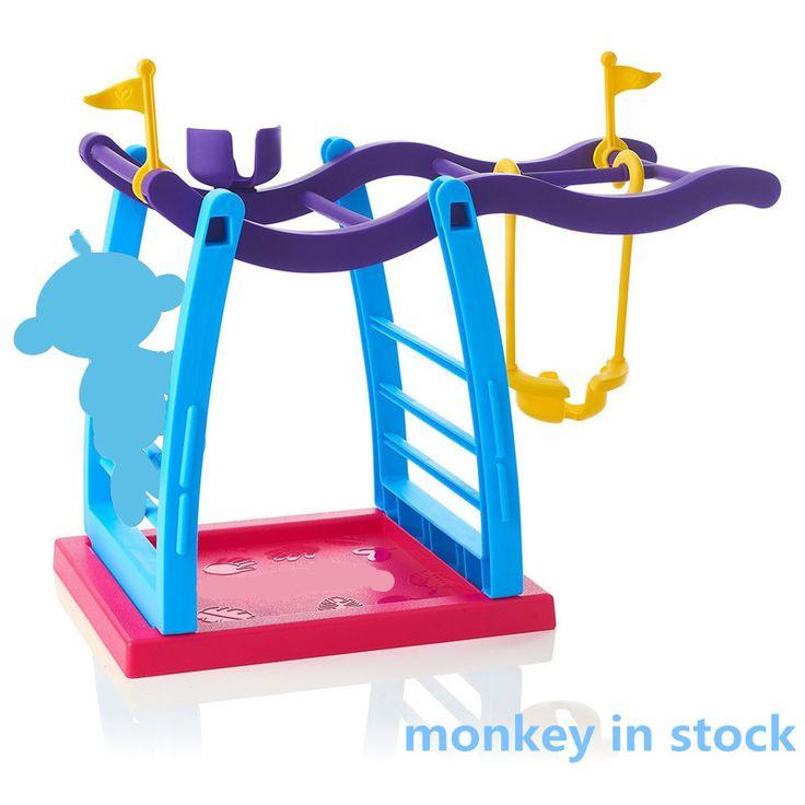 2017 Vinger Aap Jungle Gym Playset Interactieve vinger Baby Aap beweging Klimmen Stand Kinderen Speelgoed Kerstcadeaus