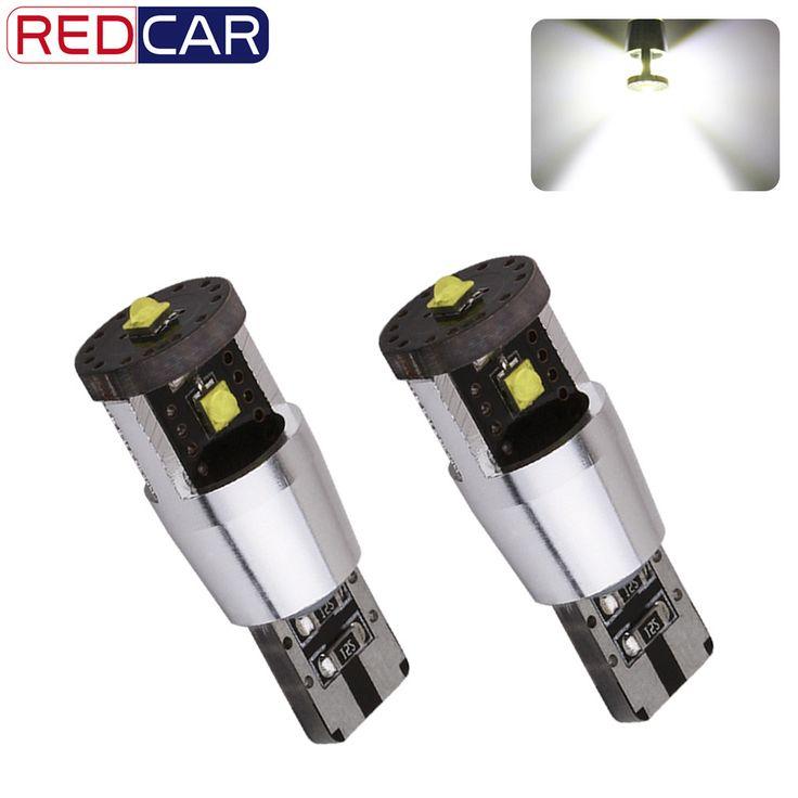 2pcs w5w T10 Led Bulbs Super Bright Cree LED Chips 15W Canbus 501 car light source led DRL interir light Instrunment Lights u30