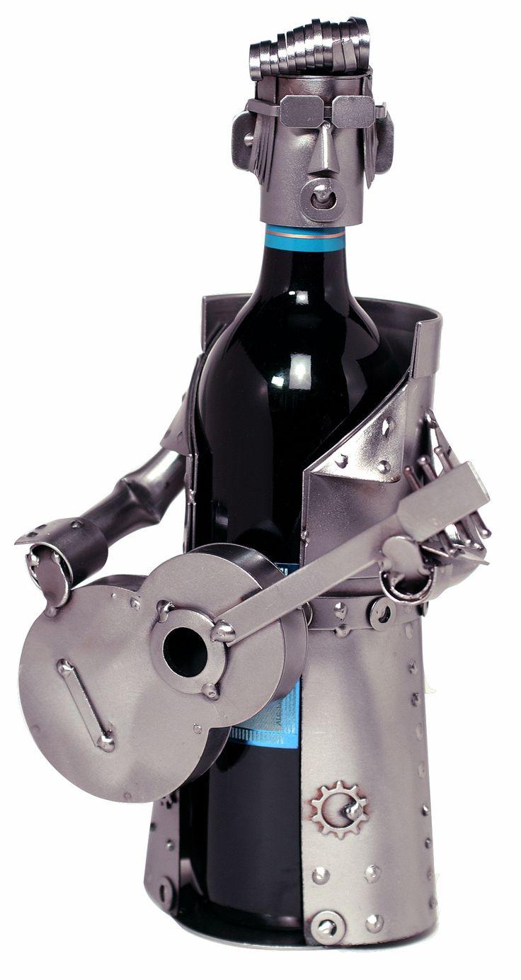Elvis Impersonator 1 Bottle Tabletop Wine Rack