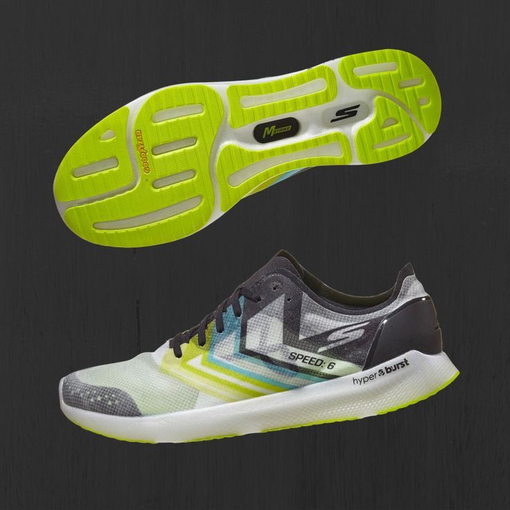 A race-ready shoe, the Skechers Gomeb