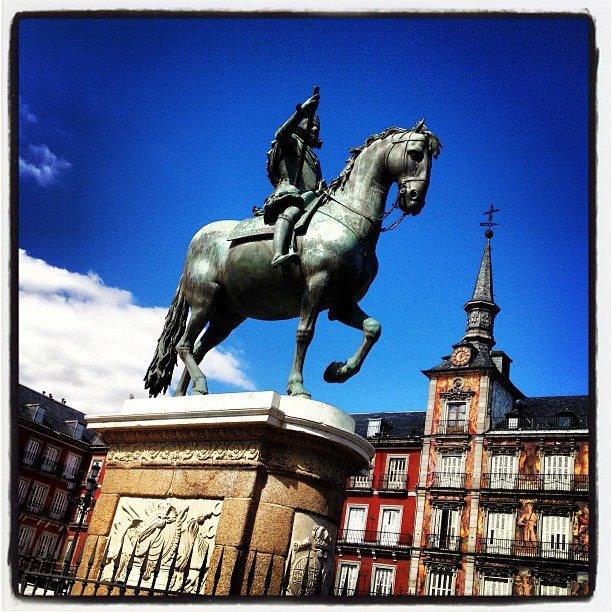 #Plaza Mayor #Madrid #Spain ©www.aunioncreatividad.com