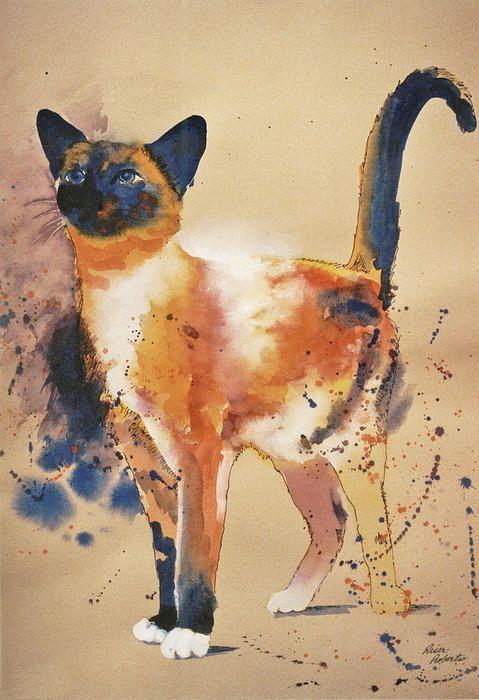 "EVE RISER ROBERTS  Pollock´s cat, Not ""Jackson Pollock """