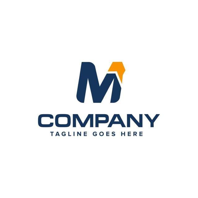 رسالة م والسهم تصميم شعار ناقلات تصميم شعار مجردة Abstract Logo Lettering Logo Design