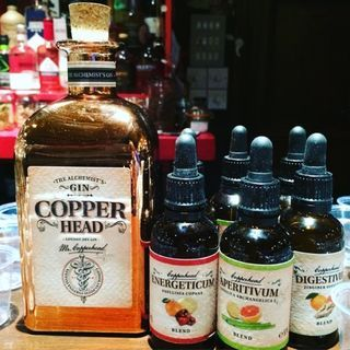 Copperhead gin tasting