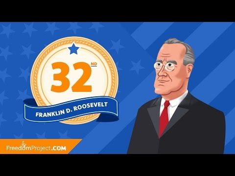 (21) Franklin Roosevelt | Presidential Minute - YouTube