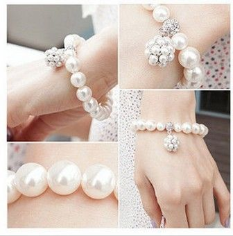 Min. Ordem são $10( a ordem da mistura) lotes por atacado 2013 pulseira pulseira jóias coreano todos- bola de jogo baratos pul...