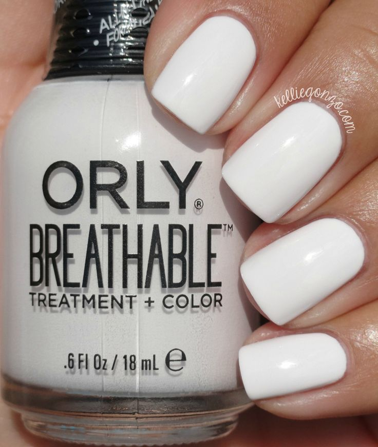 Orly Breathable Barely There // @kelliegonzoblog