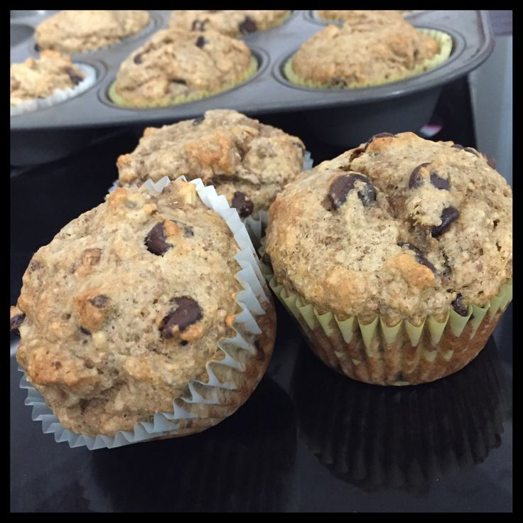 These muffins are moist and delicious and taken from one of my favorite cookbooks 'Isa Does It'. You can make them with chocolate chips or leave them out altogether. You can also use pecans, or a combination of your favorite nuts, or pecans with chocolate chips - whatever your heart desires:) #vegan #healthy #muffin #banana #isadoesit #sharicreates