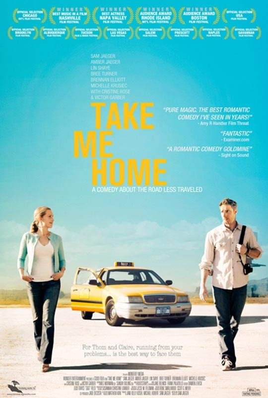 Take Me Home: Stars, Crosses Country Trips, Ruins, Roads Trips, Romantic Comedy Film, Homes, Favorit Movies, Sam Jaeger, Movies Trailers
