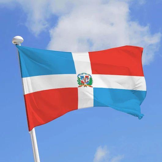 Image : Doublet : Fabricant drapeau République Dominicaine et pavillon ...
