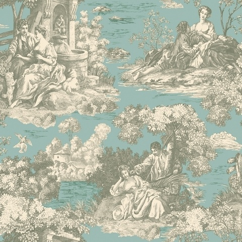 1000 Images About Toile On Pinterest China Cabinet