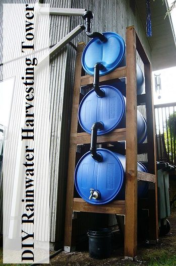 I have got to say this is one of the most awesome DIY rainwater harvesting projects I have ever seen!