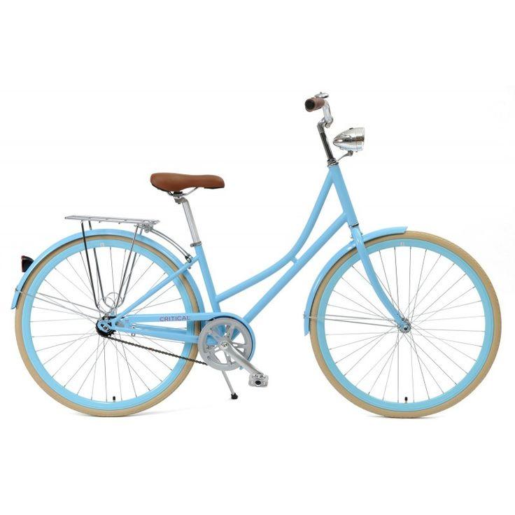Sky Blue Dutch Style 1 Speed City Bike 249 Bike Dutch Bike