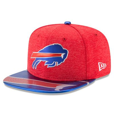 Buffalo Bills New Era 2017 NFL Draft On Stage Original Fit 9FIFTY Snapback Adjustable Hat - Red