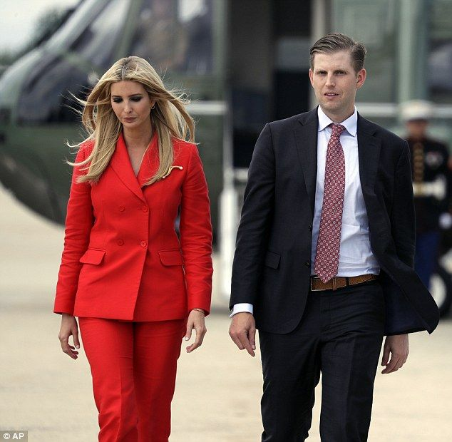 Ivanka Trump Wears Cherry Red Suit To Tampa Red Suit Ivanka Trump Royal Fashion