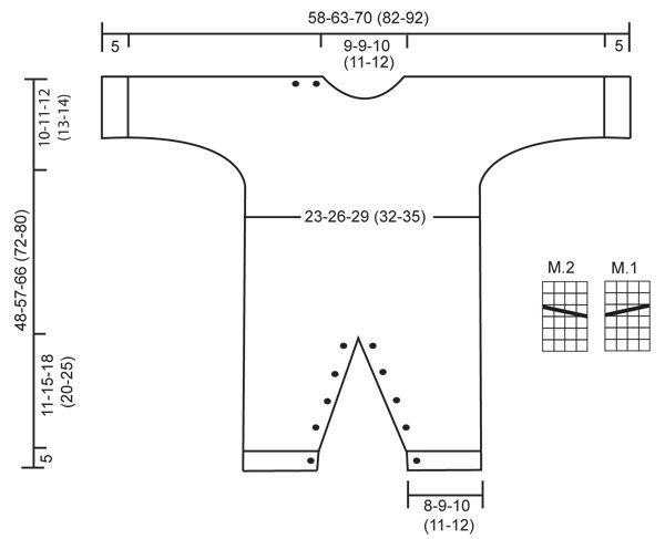 Strikket DROPS baskerhue og buksedragt med snoninger midt foran i Merino Extra Fine. Gratis opskrifter fra DROPS Design.