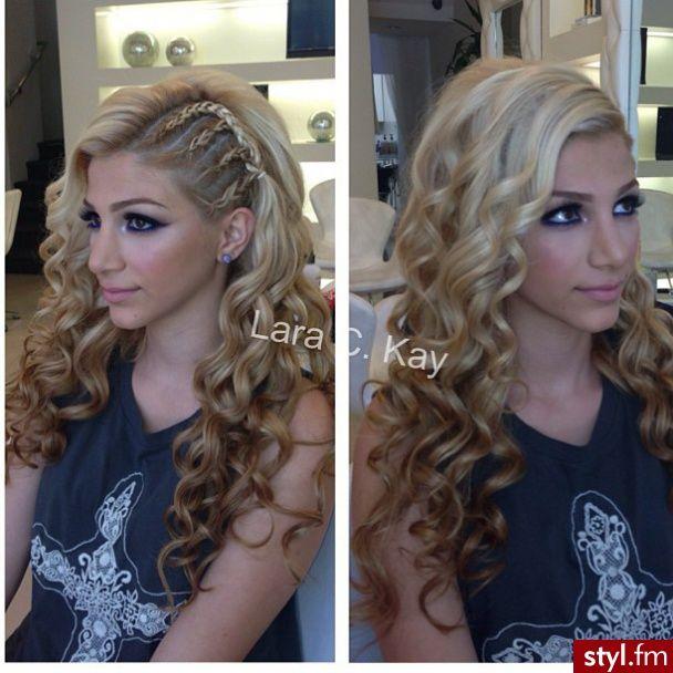 Fryzury  Długie włosy: Fryzury Długie - Magdalena Dziak - 2434981