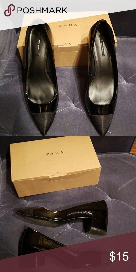 Zara Basic Flats Basic Patent Leather Flats Zara Shoes Flats & Loafers