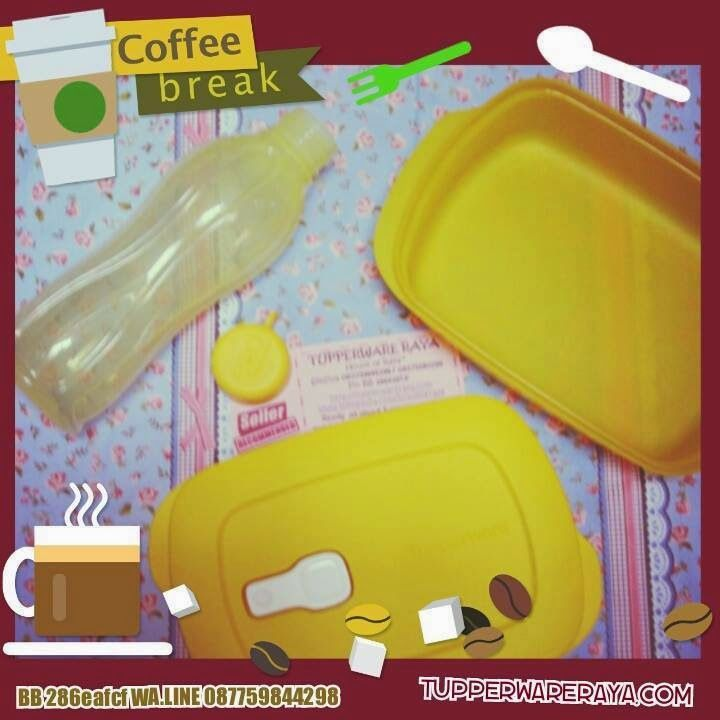 Promo Tupperware Februari Paket Coffee Break Yellow