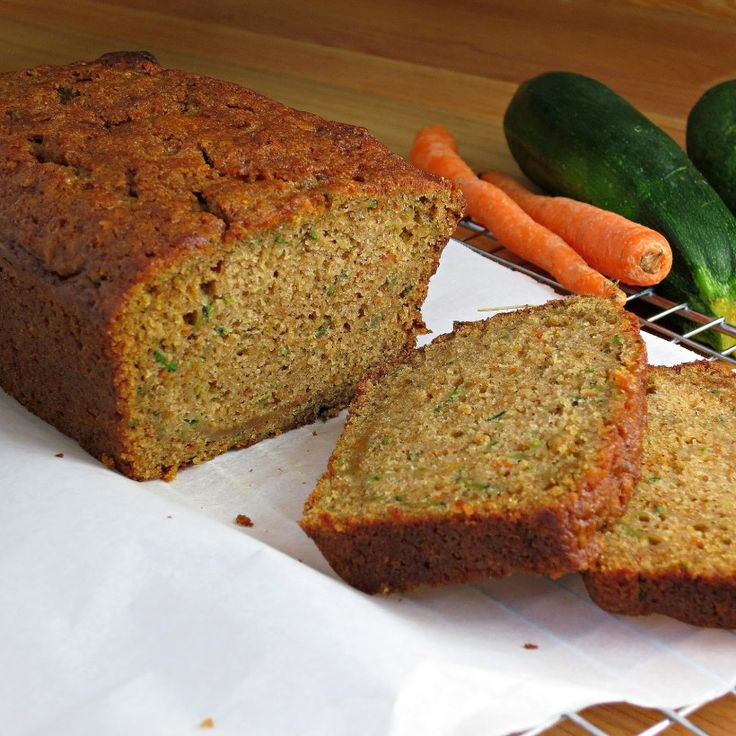 Carrot Zucchini Bread is a moist, delicious twist on zucchini bread. If find zucchini is taking over your garden, this is definitely a must-make!