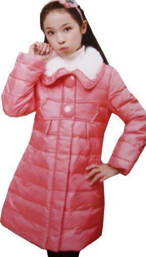 Girls Outerwear Down Coat Warmest Puffer Faux Fur Collar Size 9-14 Years by Sunny Fashion, http://www.amazon.co.uk/dp/B00FPEUJUM/ref=cm_sw_r_pi_dp_Vf3vsb177KYAX