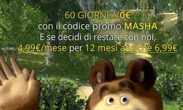 promozione infinity masha