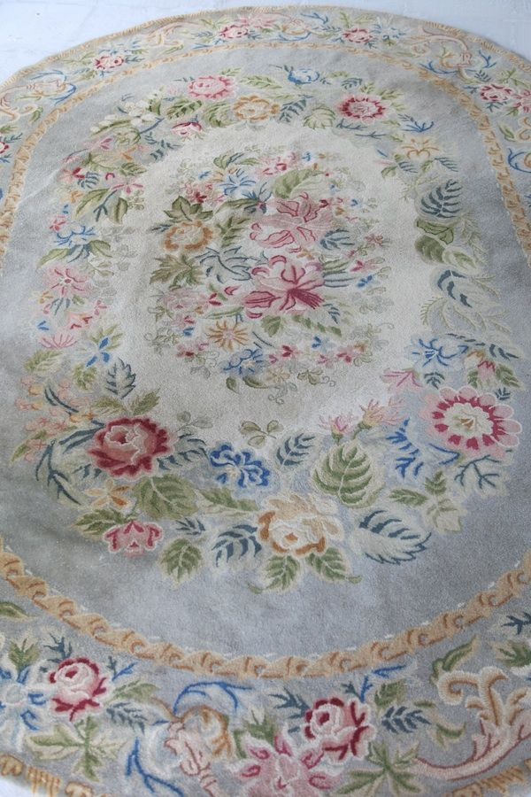 Shabby Chic Cottage Style Vintage Rug