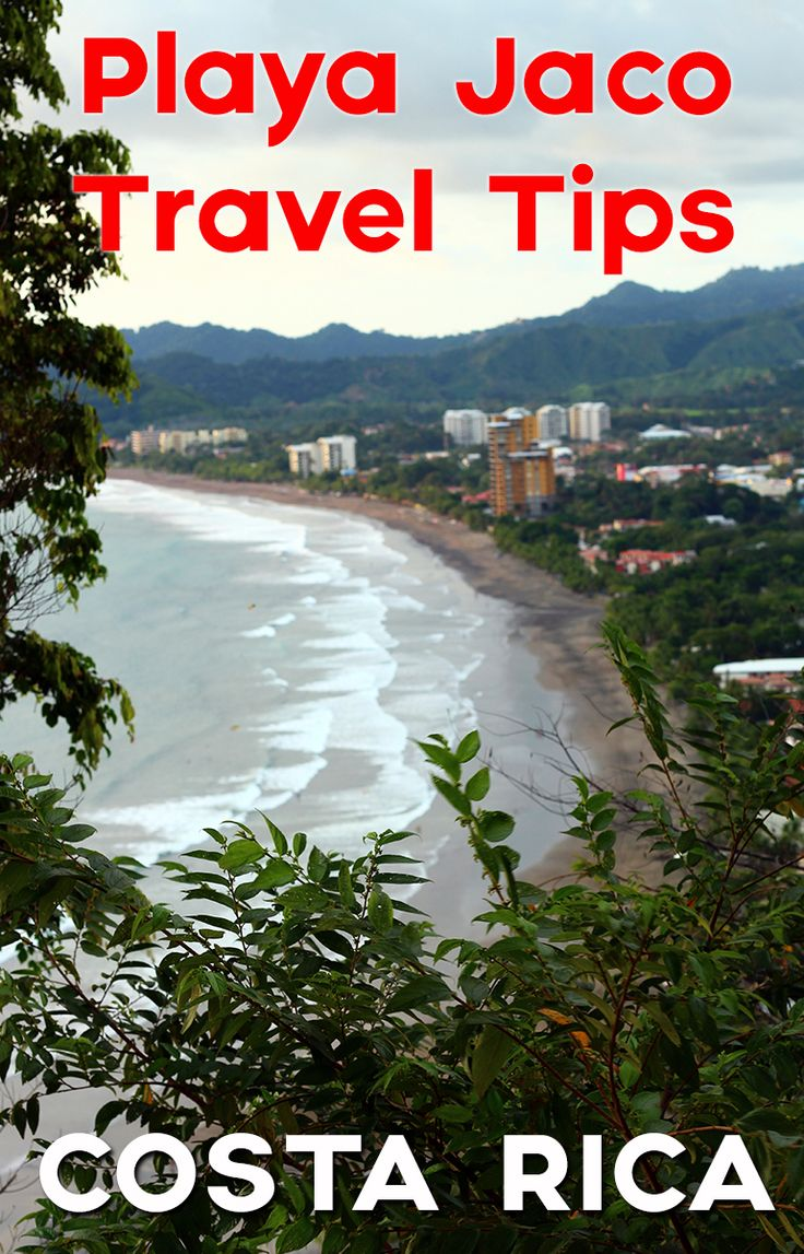 Playa Jaco travel tips - what to do, where to sleep, where to eat and more
