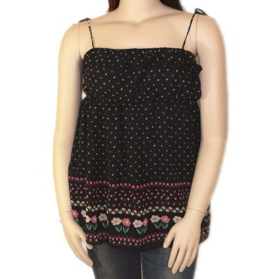 Women's Clothing :: Tops :: Ruffled floral singlet top - $39