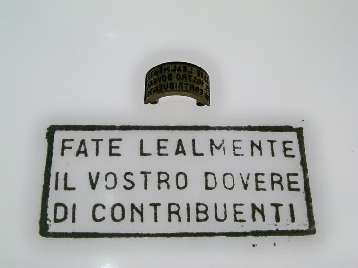 Pubblicità progresso...su lettera! (dalla mostra per i 150 anni di Poste Italiane - Roma Circo Massimo)