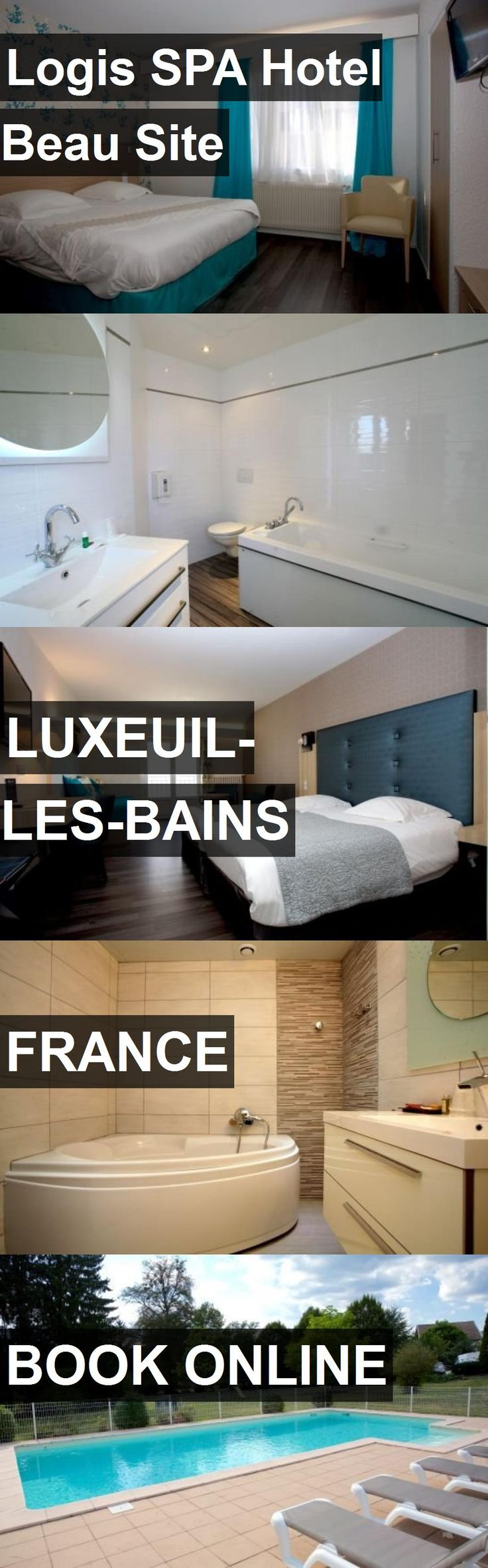 Logis SPA Hotel Beau Site in Luxeuil-les-Bains, France. For more information, photos, reviews and best prices please follow the link. #France #Luxeuil-les-Bains #travel #vacation #hotel