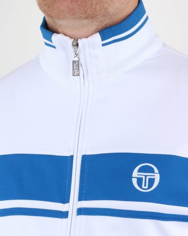 Sergio Tacchini Masters Track Top White/Royal,tracksuit,jacket