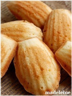「サクフワマドレーヌ」いたるんるん | お菓子・パンのレシピや作り方【corecle*コレクル】