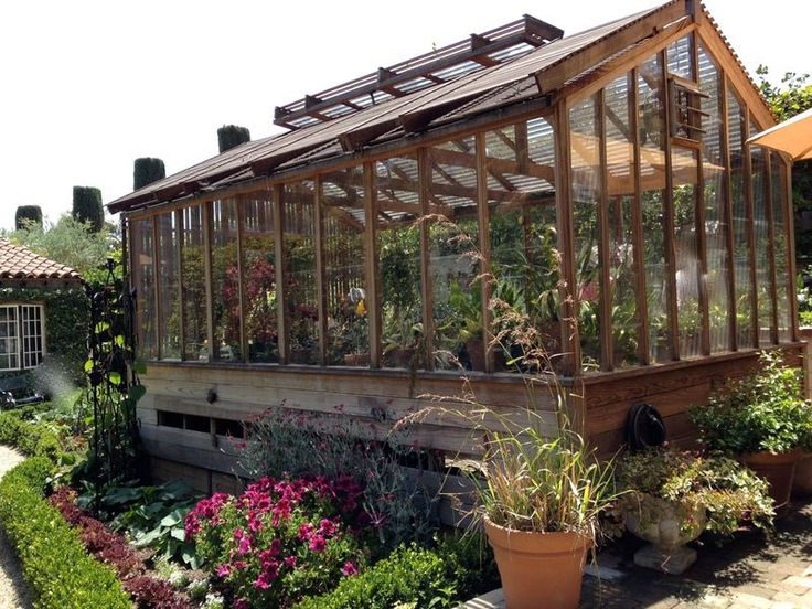 This is my Dream Greenhouse