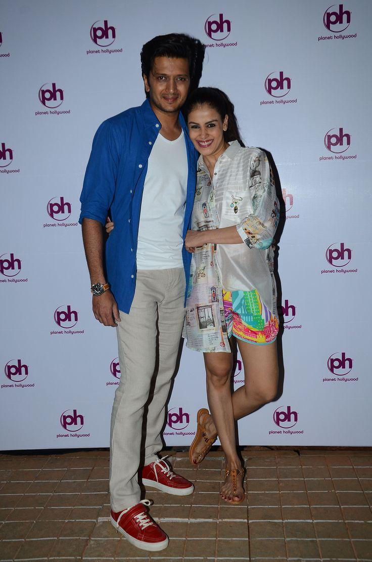 Ritesh Deshmukh and Genelia Deshmukh  visit #PlanetHollywoodGoa.  #PlanetHollywood #BeachResort #India #Goa