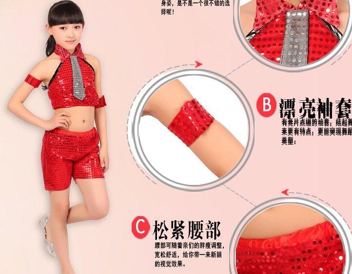 Top + pants / piece danza de salón de baile de la muchacha del muchacho C 009 niñas jazz del traje pantalón corto de baile hip hop paillette más el tamaño 5 tamaño en Salón de Novedad y de uso especial en AliExpress.com | Alibaba Group