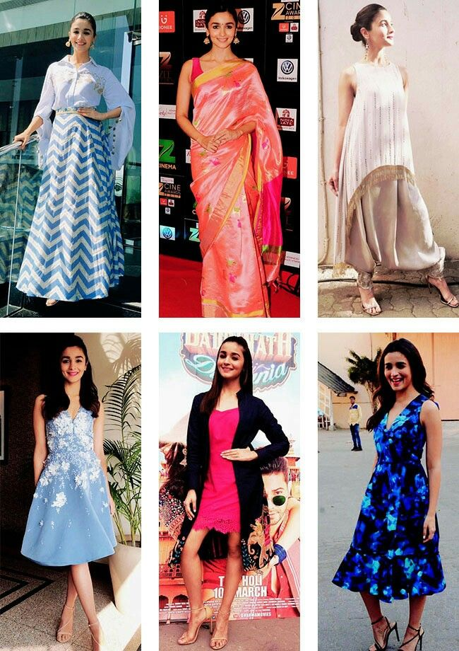 Alia and her dresses