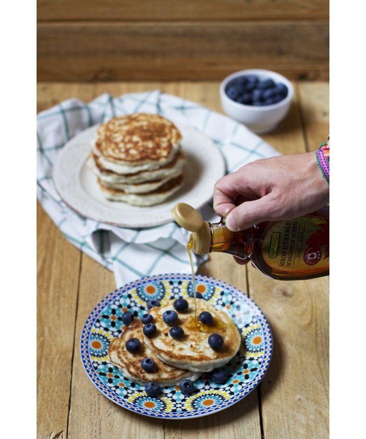 Pancakes senza glutine e lattosio --- Gluten and lactose free pancakes
