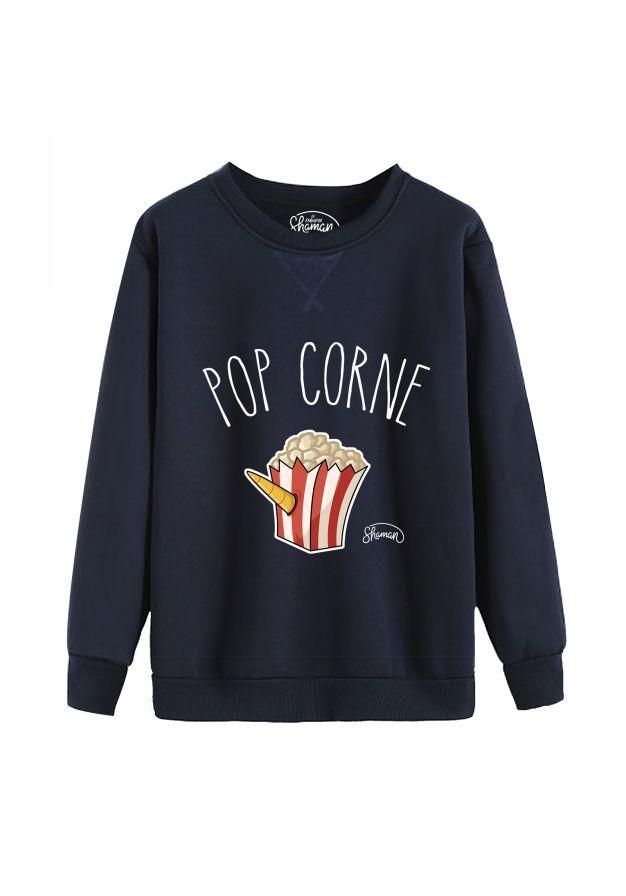 """Sweat """"Pop corne"""""""
