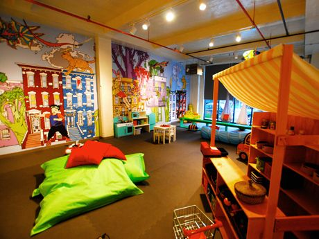 When it's too cold, too rainy, or too boring at home, try one of our favorite play spaces.