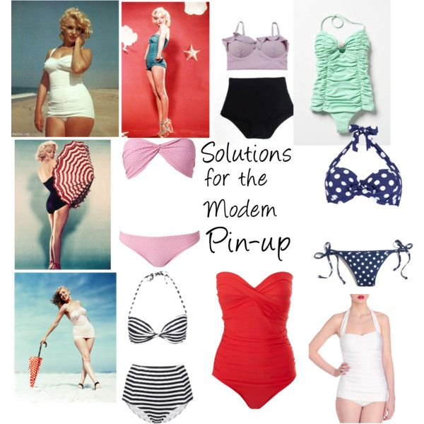"""""""Solutions for the Modern Pin-up"""" by caryvanessa on Polyvore"""