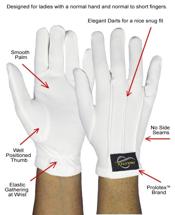 Picture of Ladies Raynuad' Gloves to Show Features. Best glove for a womans' hand. It's that time of year already! This website also has Men's gloves.