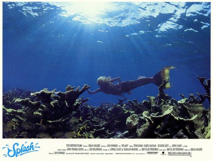 splash film | Splash Movie Poster 11x14 B Tom Hanks Daryl Hannah Eugene Levy John ...