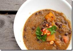 black bean butternut squash soup | Yummy Food, Drinks & Treats | Pint ...