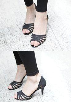 Peep Toe Strap D'Orsay  SFSELFAA0014046